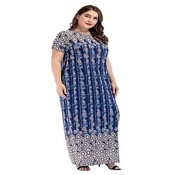 Cvbndfe Cómodo Vestido Suelto de Gran tamaño para Mujer Vestido de Oriente Medio Toga árabe Elegante (tamaño : XL): Amazon.es: Hogar