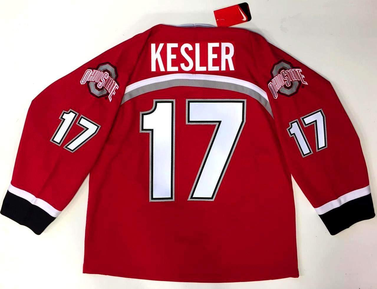 buy popular 6aa83 a0501 Ryan Kesler Jersey - Nike Ohio State Buckeyes Large New at ...