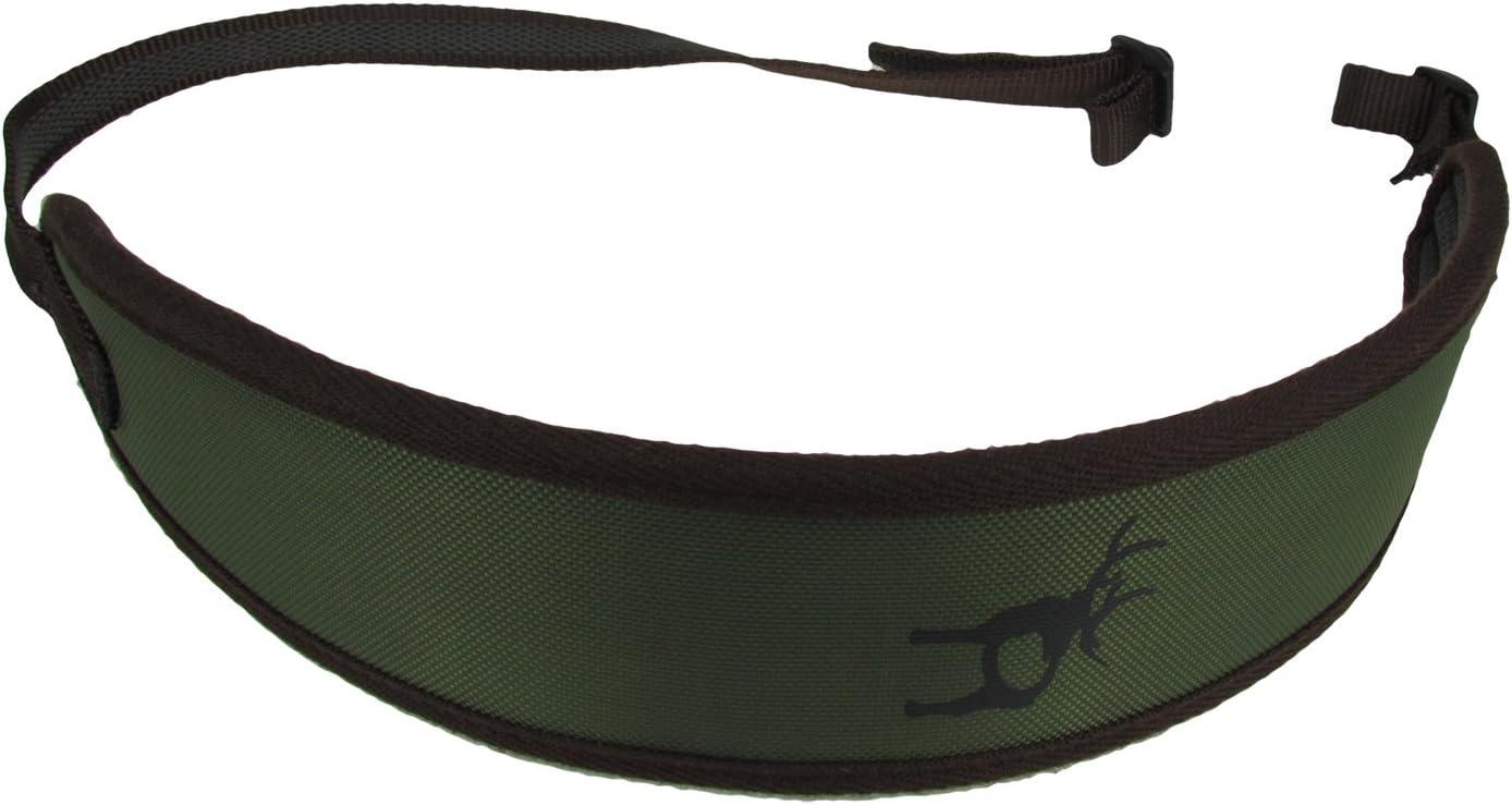 TOURBON Portafusil Caza Correa para Escopeta y Rifle Verde Nylon -Honda Táctica