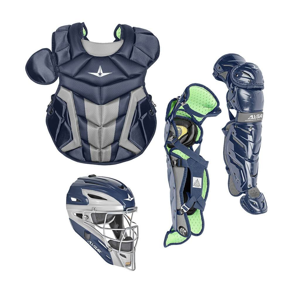 All-Star System7 Axis CK1216S7X Intermediate Catchers Gear Set (Navy) by All-Star