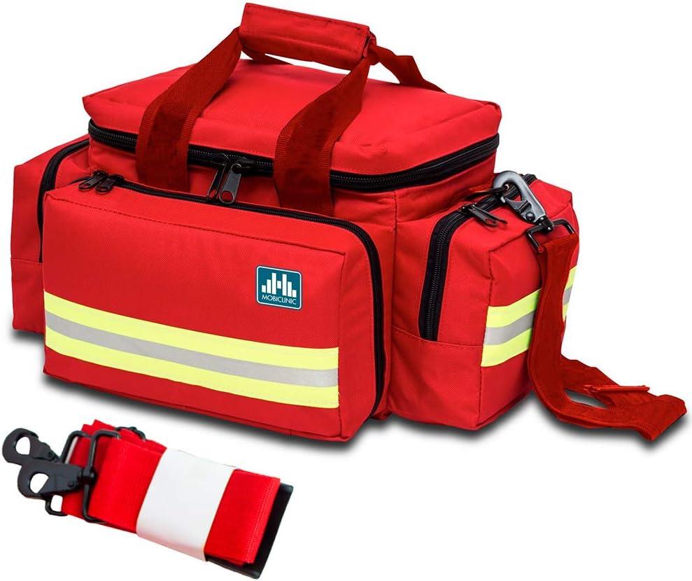 Mobiclinic by Elite Bags, Bolsa ligera para emergencias, Roja