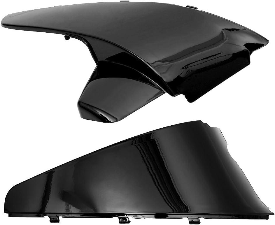 sedeta Akku Seite MAN schwarz ABS-Kunststoff Akku Seite Schutzfolie Cover Formen Radkappen f/ür Honda Shadow VT600/VLX
