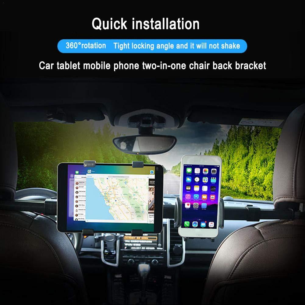 Supporto Fila Posteriore per Tablet PC iPad Mondayup Staffa Supporto Telefono Auto Supporto Universale Multifunzione Sedile Posteriore handsomely Wonderful