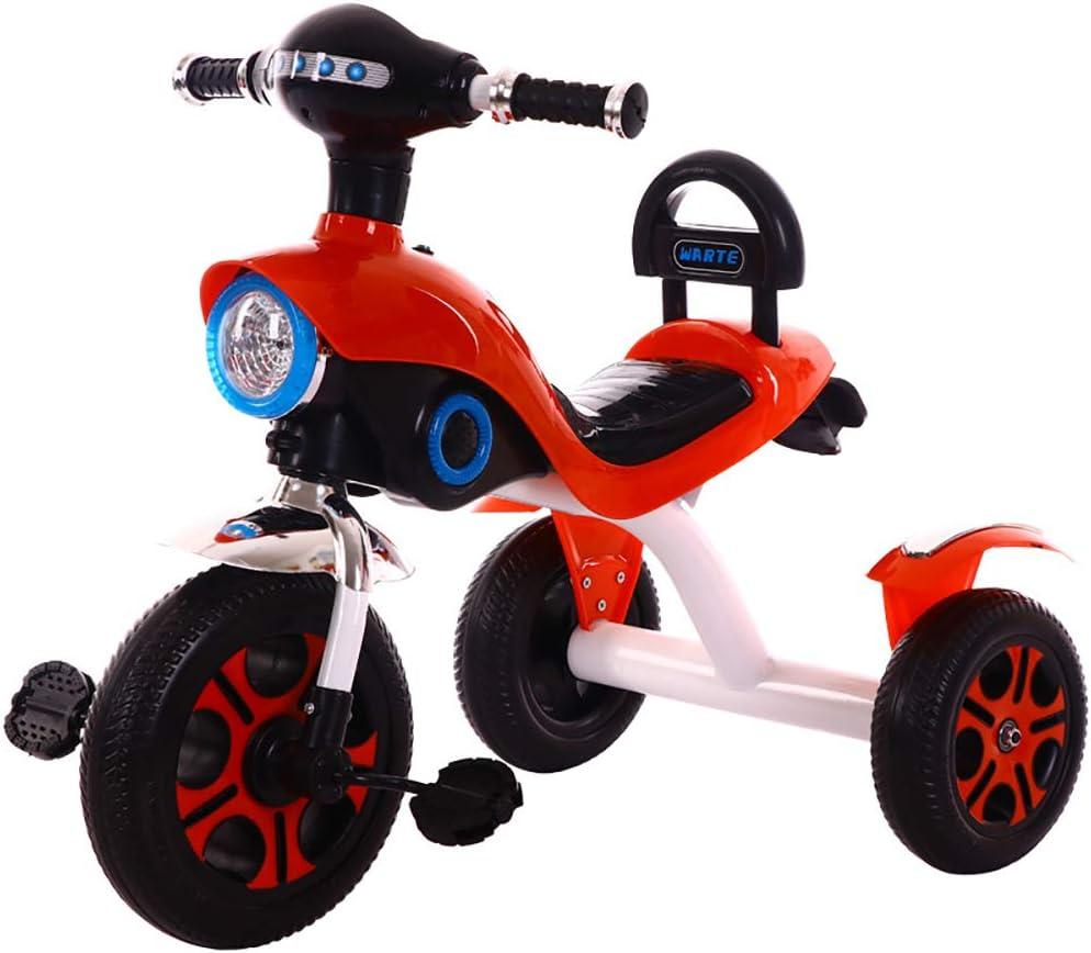 JINHH Triciclo, Triciclos niños 2 años Triciclos Bebes Evolutivo,Triciclo para Niños más de 36 Meses -6 años, Bike Niños Triciclo Pedales, Blue
