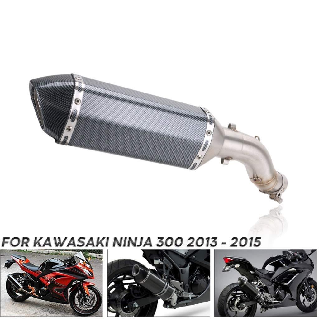 NSDFG Motocicleta tubo de escape de la motocicleta, tubo de ...