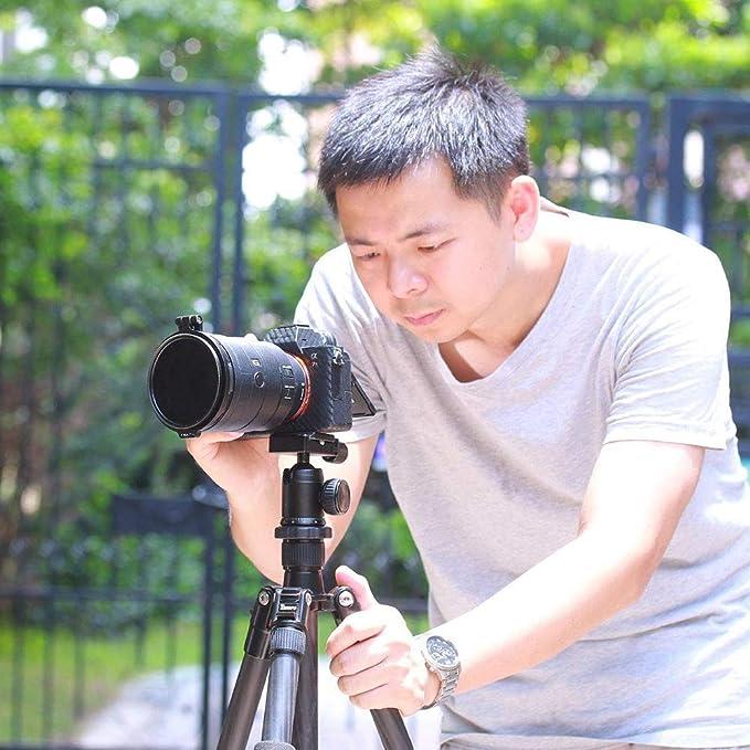 Linghuang Sistema de Filtro rápido portafiltros Lente de cámara ...
