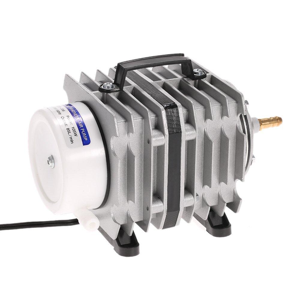 Anself 571-1585 GPH Commercial Hydro Active O2 Aquarium Air Pump Electrical Magnetic Oxygen Pump 20/35/45/55/80/105W