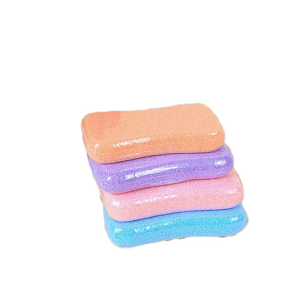 Foot Scrub Lava Pumice Stone for Hard Dead Skin Premium Pedicure Exfoliating File Acupoint Massage Random Color 1pcs ZhengNongShangMao