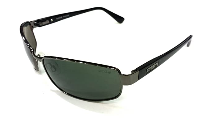 ec750f800c Bolle DELANCEY 11300C Gunmetal POLARIZED Grey Sport Wrapped Sunglasses  59 18 135  Amazon.in  Clothing   Accessories