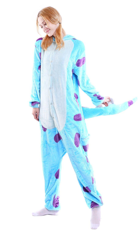Dolamen Adulto Unisexo Onesies Kigurumi Pijamas, Mujer Hombres ...