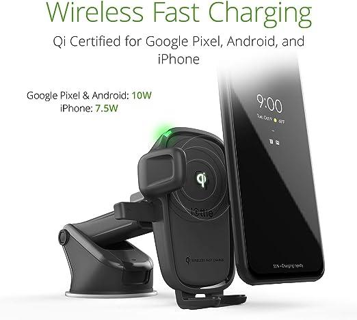Iottie Easy One Touch Wireless 2 Qi Lade Dashboard Halterung Für Iphone Xs Max R 8 Plus 10 W Für Samsung Galaxy S10 E S9 S8 Plus Edge Hinweis 9 Auto