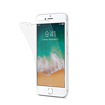 best service 4822f 0dfbd Tech 21 T21-5340 Impact Shield Screen Protector with Self Heal for iPhone 7  - Transparent