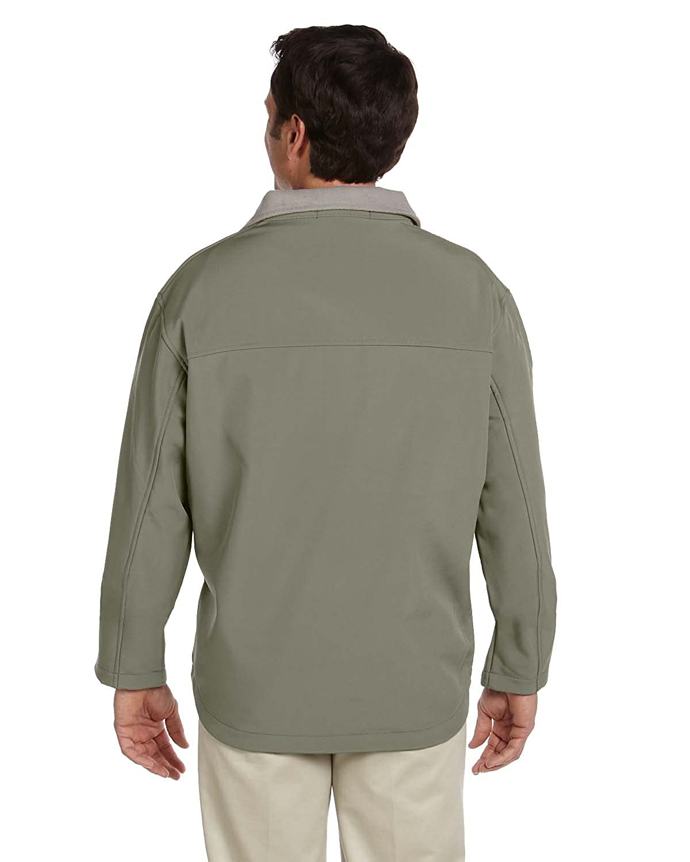 XL OLIVE Devon /& Jones Mens Soft Shell Jacket