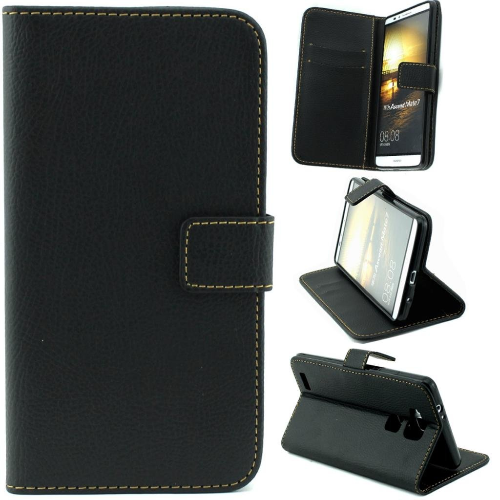 finest selection 432f8 75aaf Amazon.com: Mate 7 Case,mate 7 flip cover, Gift_Source Brand PU ...