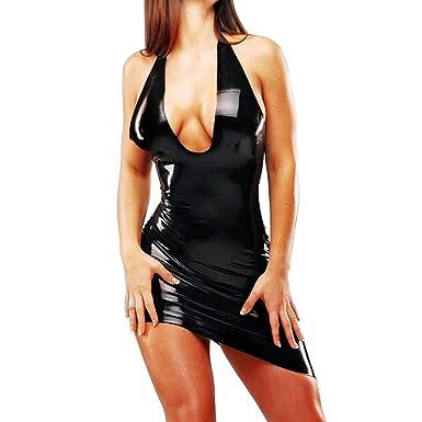 Latex Backless Dresses