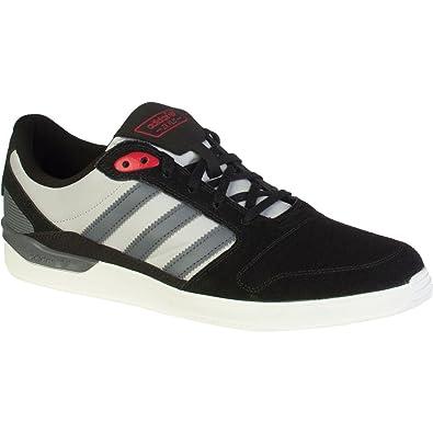 Adidas ZX Vulc Skate Shoe - Men's Black/Onix/Collegiate Red, ...