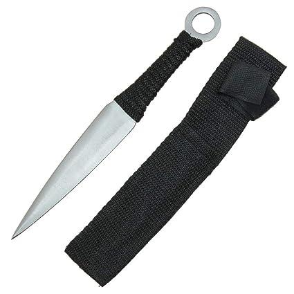 Amazon.com: Cuchillo de caza forjado a mano táctico Ninja de ...