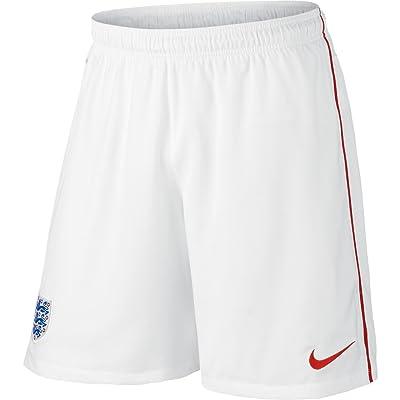 2014-15 England Nike Away Shorts (White)