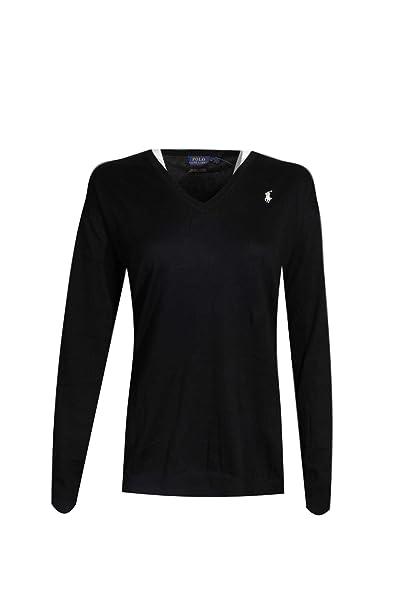 Perfect T Neck Womens Long Polo Ralph Lauren Sleeve V Shirtmedium NwOPk80Xn