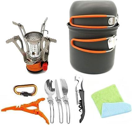 Utensilios de cocina de camping Juego de utensilios de cocina ...