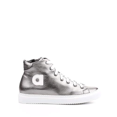 Agile By Ruco Line Sneaker Donna Autunno Inverno Argento