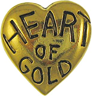 product image for Jim Clift Design Heart of Gold Gold Lapel Pin