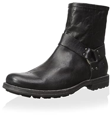 Frye Men's Phillip Lug Harness Boot, Black, ...