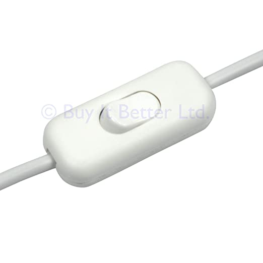 Interruptor de cable de ElekTek, diseño de bajo perfil, 2 o ...