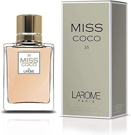Perfume de Mujer MISS COCO by LAROME (35F) 100 ml: Amazon.es: Belleza