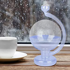 Redxiao ??????????? ???????????? ???????????? ??????????? Weather Forecast Bottle, Weather Glass, Weather Predictor Barometer Weather Forecast Glass, for Decoration for Birthday Gift
