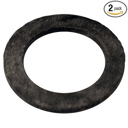 LASCO 02-2013 Flat Rubber Union Washer, 1-Inch ID X 1-1/2-Inch OD, 3 ...