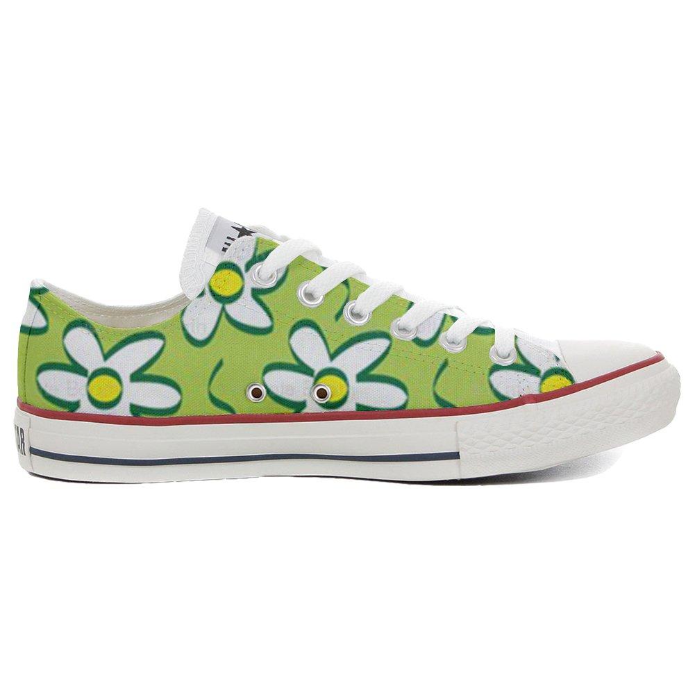 Converse All Star personalisierte Schuhe (Handwerk Produkt) Daisies  35 EU