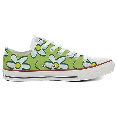 Converse All Star personalisierte Schuhe (Handwerk Produkt) Daisies
