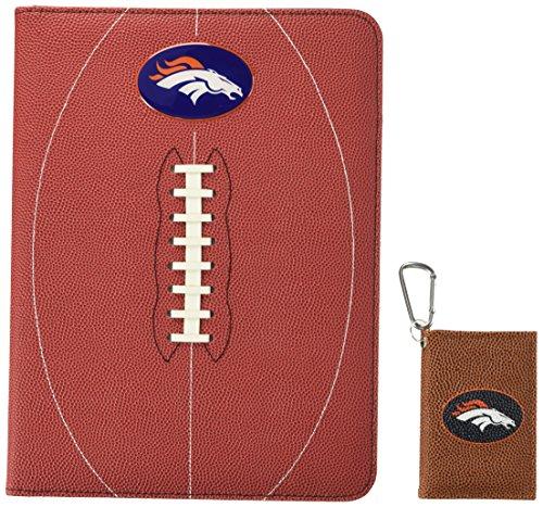 GameWear NFL Denver Broncos Classic Football Portfolio & ID Holder Gift Pack, One Size, Brown ()