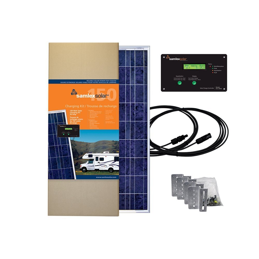 Samlex Solar SRV-150-30A All-in-One Solar Charging Kit