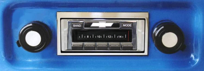Custom Autosound Stereo compatible with 1967-1972 Chevrolet Truck USA-630 II High Power 300 watt AM FM Car Stereo//Radio