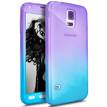 separation shoes 8401f fa0d2 PHEZEN Galaxy S5 / S5 Neo Case with Tempered Glass Screen Protector, 360  Front and Back Full Body Coverage Shockproof Hybrid Hard PC Armor  Protective ...