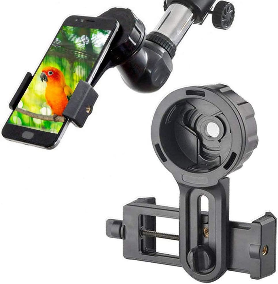 Universal Cell Phone Adapter Holder Spotting Scope Cell Phone Adapter for Telescope Microscope Cell Phone Adapter Mount