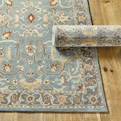 Ballard Designs New 5 X 8 Irving Wool Traditional Persian Oriental Handmade Wool Rug   Carpet