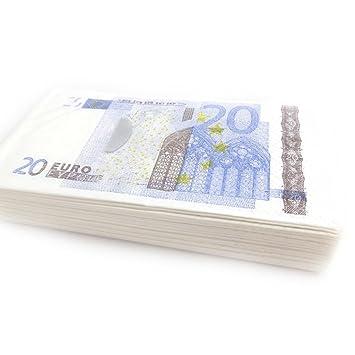 magasins populaires professionnel classique chic Paquet de mouchoirs 'Billet de 20 euros': Amazon.fr: Cuisine ...