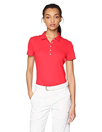 Amazon.com   PUMA Golf Women s Cresting Pounce Polo   Clothing 0e085ff983