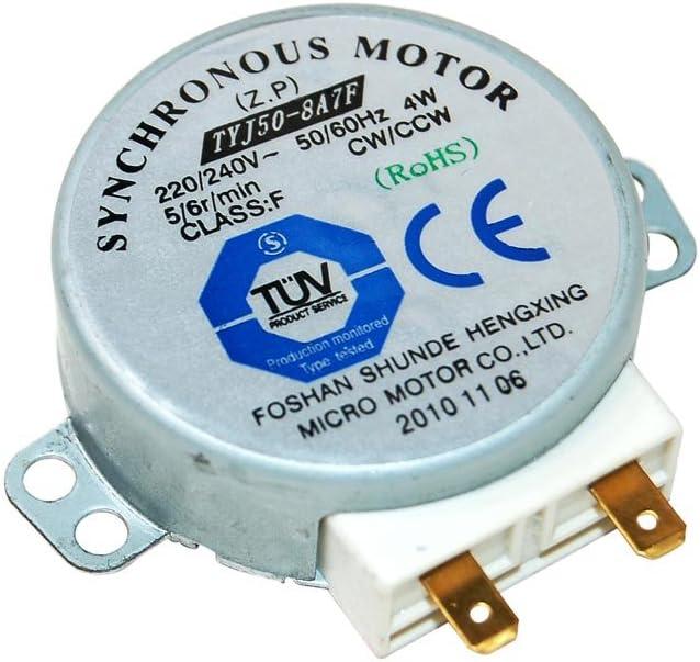 Microondas Turntable Motor para microondas Whirlpool equivalente a 481236158419