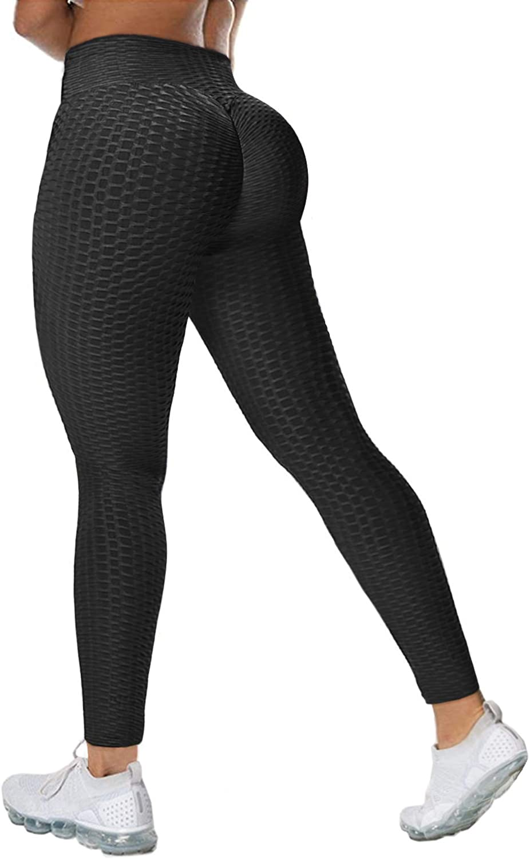 Lady Scrunch Butt Lift Yoga Pants Anti-Cellulite Gym Fitness High Waist Leggings