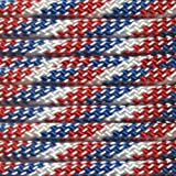 Paracord Planet 100' 550lb Type III Paracord Red, White, Blue