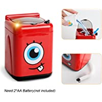 Start_wuvi Kid Pretend Play Home Appliances Kitchen Toy,Simulation Home Electrical Equipment Toy,Children's Creative Hands-on Toys, Funny Education Development Children's Training Toys, Cute Birthday Gifts (F)