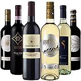 【Amazonワインエキスパート厳選】おうちバル料理に合うイタリア・スペインワイン飲み比べ750ml×6本セット [イタリア、スペイン/赤ワイン/辛口/フルボディ/6本] [ 4500ml ]