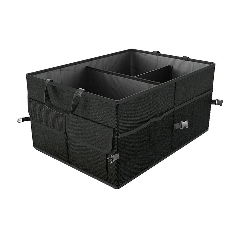 Car Trunk Storage Bag Folding Multi-Function Vehicle Back-Up Large Capacity Box Supplies Bag New Bag Trunk Organizer Collapsible Shopping Travel Holder for Car, Minivan, Truck & Indoor Uses Black by MQYH@