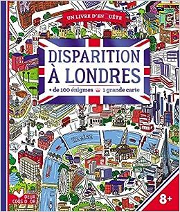 Carte Dangleterre.Disparition A Londres De 100 Enigmes 1 Grande Carte Un
