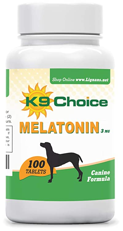 K9 Choice Melatonin 3 mg 100 Tablets