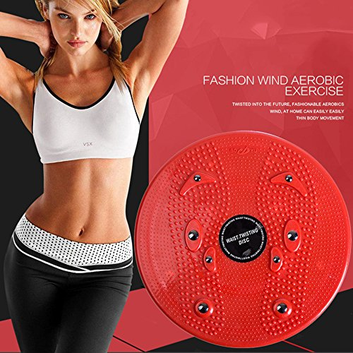 Household Twist Waist Torsion Disc Board Magnet Aerobic Foot Exercise Board by CLKJYF